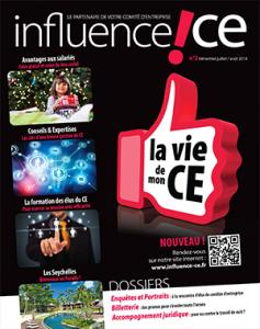 magazine influence ce 2