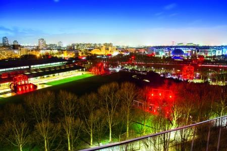 Le parc, la nuit