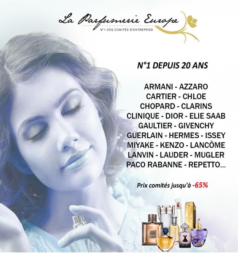 Présentation La Parfumerie Europe