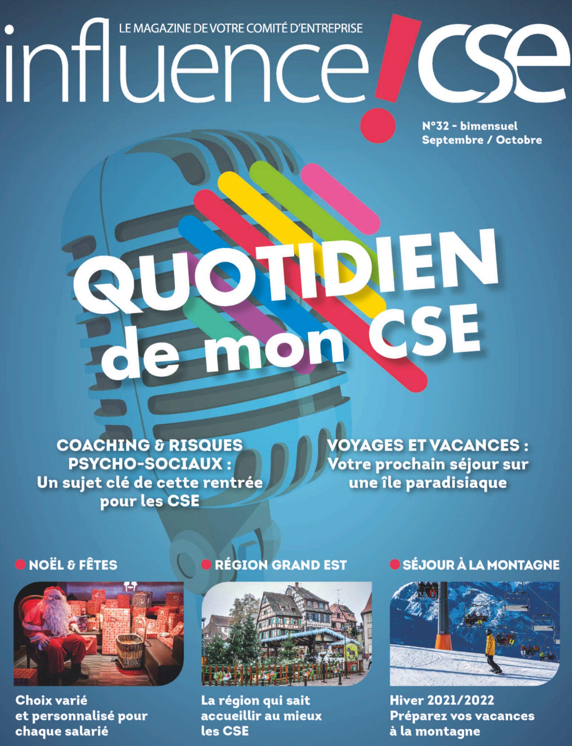 MAGAZINE INFLUENCE!CSE 32